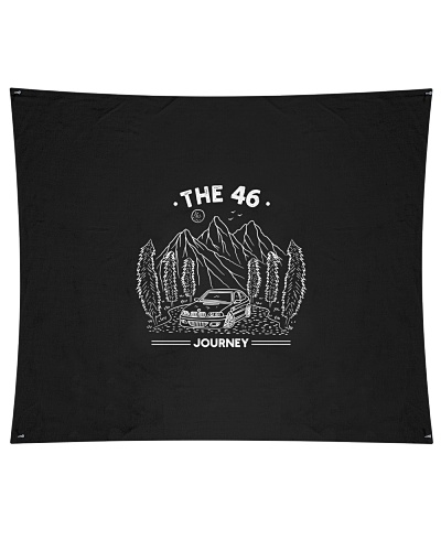 Wall Tapestry - THE46 JOURNEY