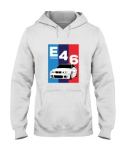 E46 M Colors Hooded Sweatshirt front