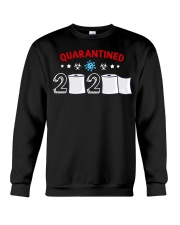Senior Funny Quarantined Class Of 2020 Graduation Crewneck Sweatshirt tile