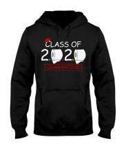 Class of 2020 Quarantined Seniors Flu Virus Quara Hooded Sweatshirt thumbnail