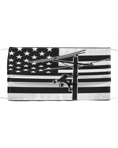 Flag American Lineman Cloth Face