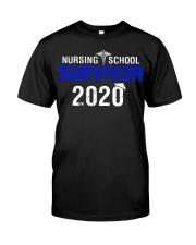 Nursing School Survivor 2020 Classic T-Shirt front