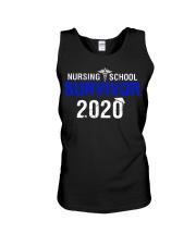 Nursing School Survivor 2020 Unisex Tank thumbnail