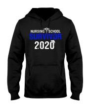 Nursing School Survivor 2020 Hooded Sweatshirt thumbnail