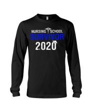 Nursing School Survivor 2020 Long Sleeve Tee thumbnail