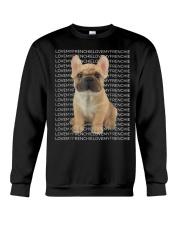 I Love My Frenchie T Shirt Crewneck Sweatshirt thumbnail