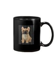 I Love My Frenchie T Shirt Mug thumbnail