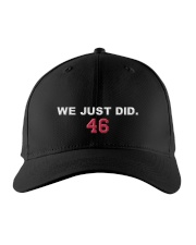 BIDEN WE JUST DID 46 HAT Embroidered Hat front