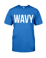 Wavy Premium Fit Mens Tee tile