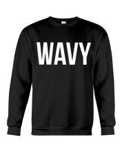 Wavy Crewneck Sweatshirt thumbnail