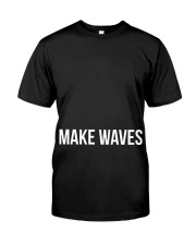Make Waves Premium Fit Mens Tee front