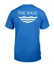 Make Waves Premium Fit Mens Tee back