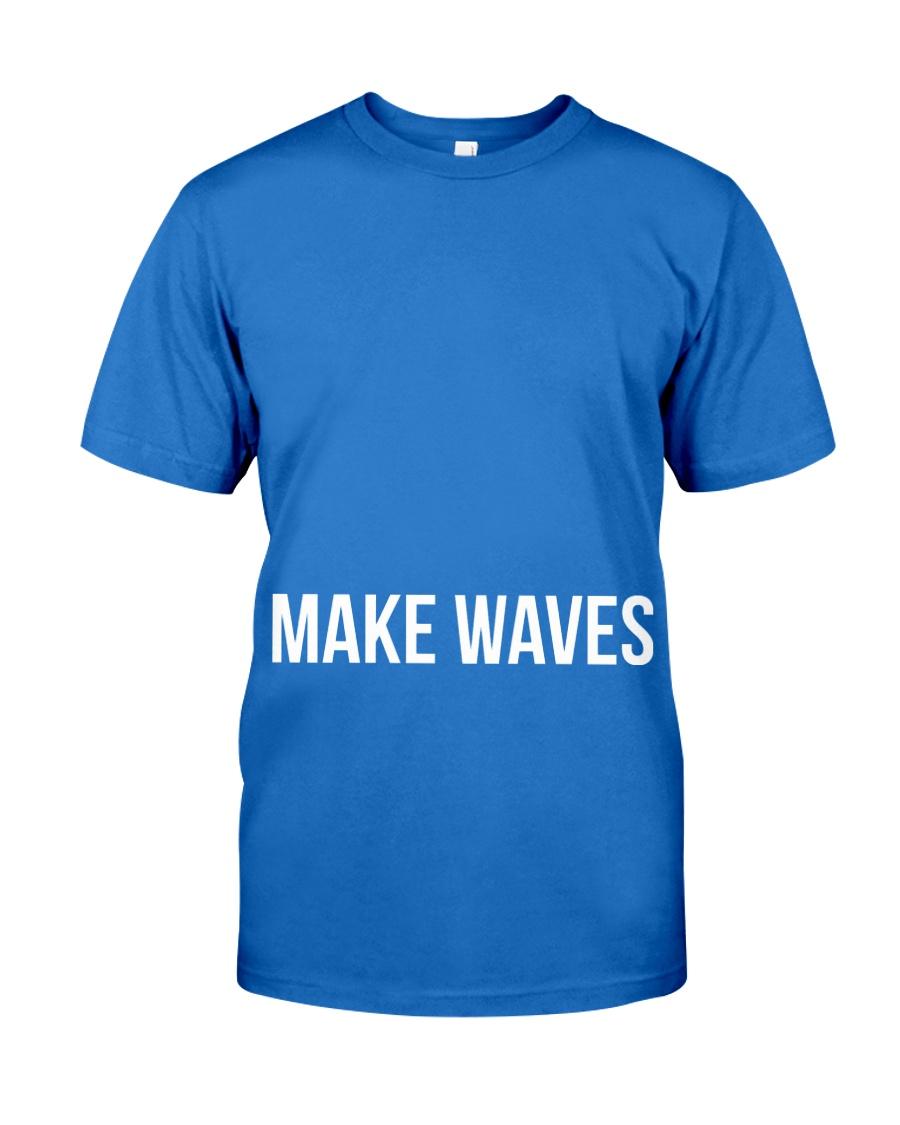 Make Waves Premium Fit Mens Tee