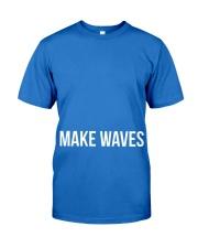 Make Waves Premium Fit Mens Tee front