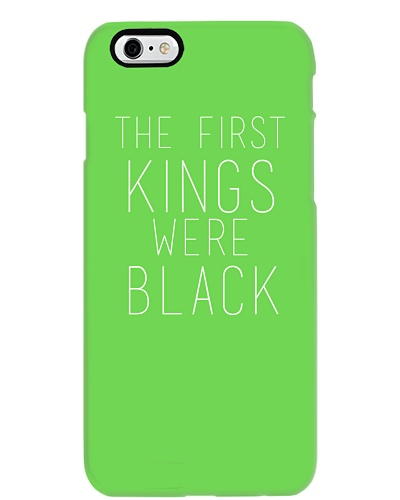 The First Kings Were Black
