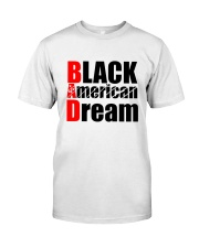 Black American Dream Premium Fit Mens Tee tile