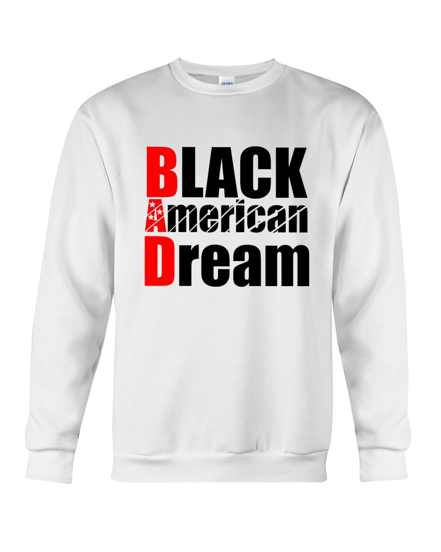 Black American Dream Crewneck Sweatshirt