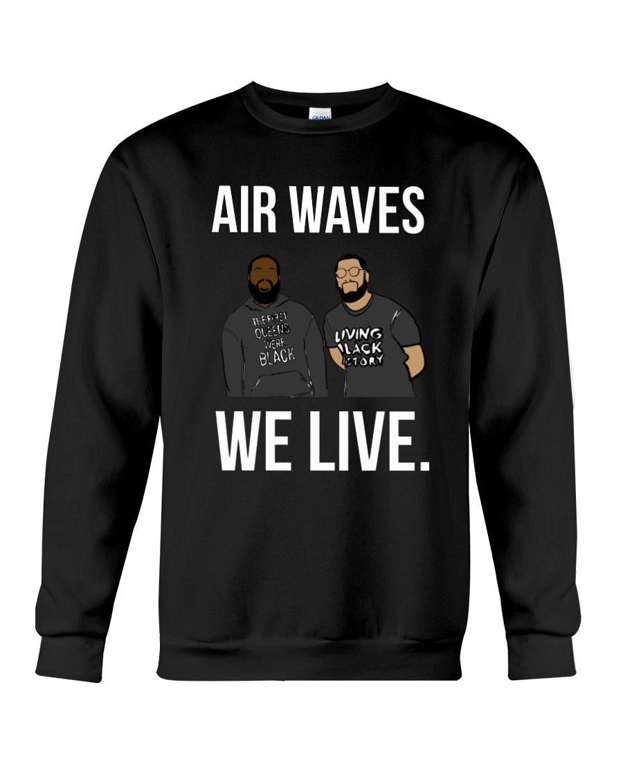 Air Waves Crewneck Sweatshirt