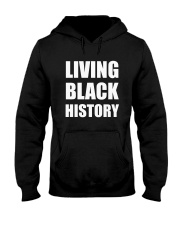 2019 Living Black History Black Hooded Sweatshirt tile