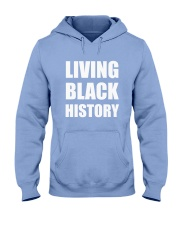 2019 Living Black History Black Hooded Sweatshirt front