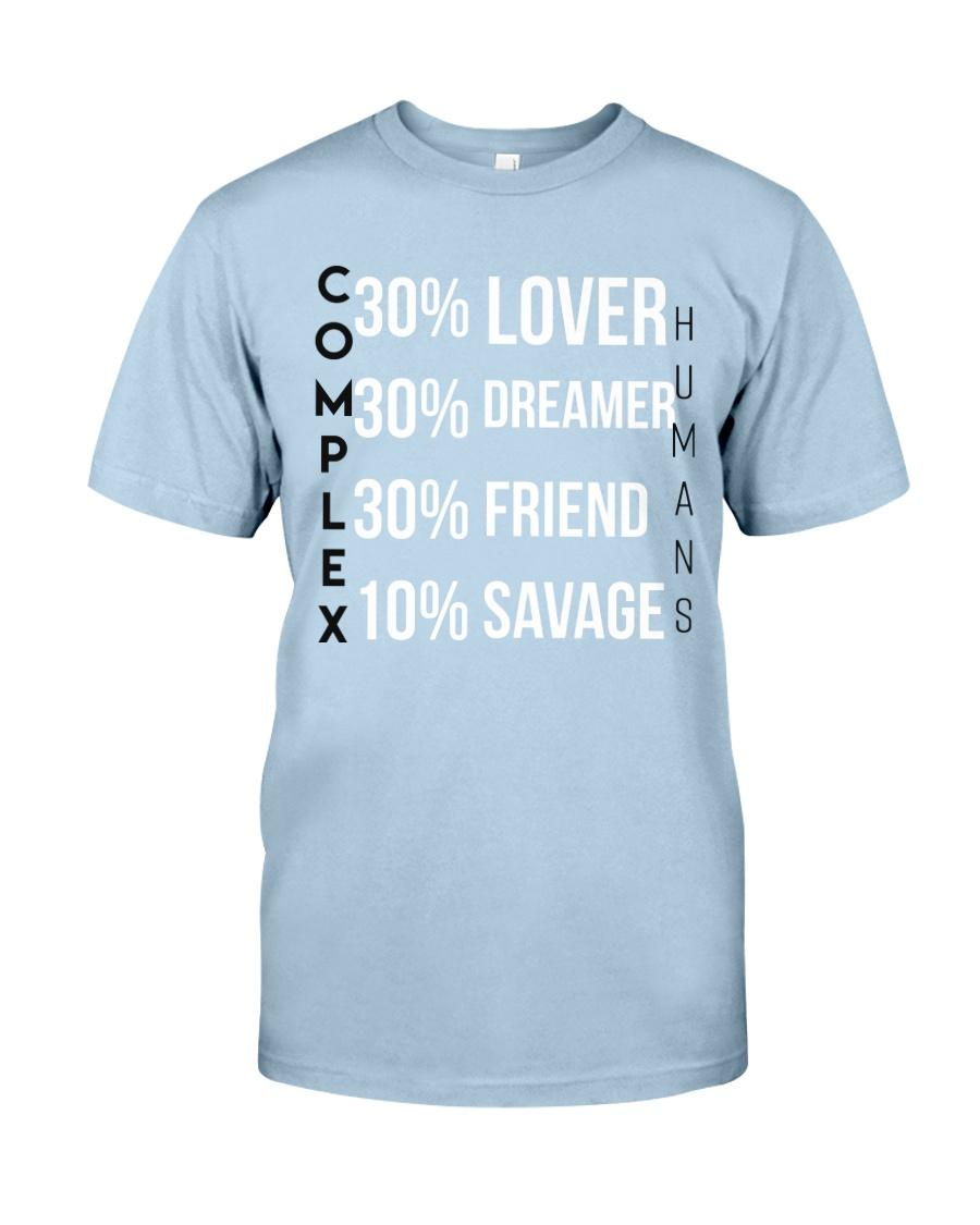 Complex Humans Classic T-Shirt