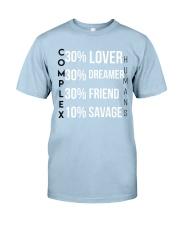 Complex Humans Classic T-Shirt front