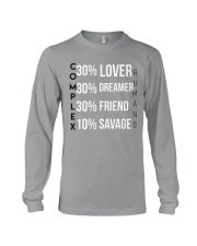 Complex Humans Long Sleeve Tee front
