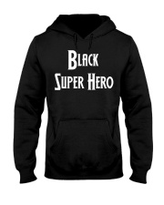 Black Supes Hooded Sweatshirt front