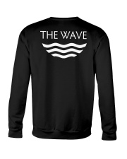 Living Black History White Crewneck Sweatshirt back