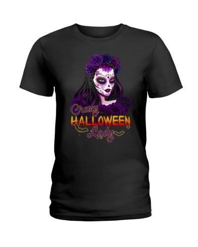 Crazy Halloween Lady