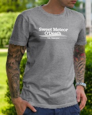 Sweet Meteor O'Death for President Classic T-Shirt lifestyle-mens-crewneck-front-7