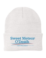 Sweet Meteor O'Death for President Knit Beanie front