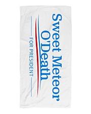 Sweet Meteor O'Death for President Beach Towel thumbnail