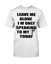 LEAVE ME WITH MY DOG Premium Fit Mens Tee thumbnail
