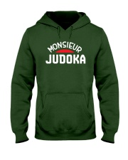 Monsieur JUDOKA - Judo T Shirt Hooded Sweatshirt front