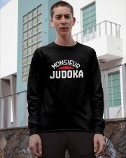 Monsieur JUDOKA - Judo T Shirt Long Sleeve Tee apparel-long-sleeve-tee-lifestyle-03
