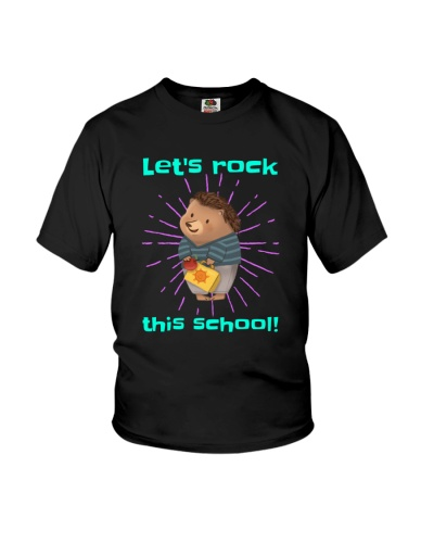 Let's Rock This School Back to School design