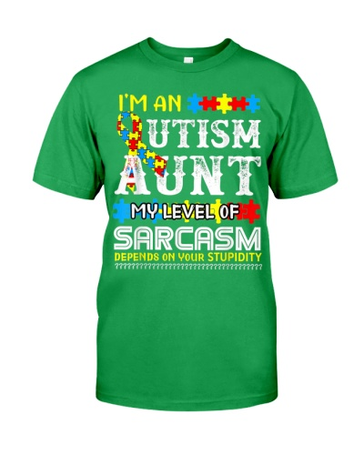Autism Awareness I'm An Autism Aunt