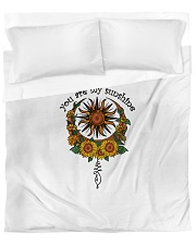 You Are my Sunshine Duvet Cover - Queen front