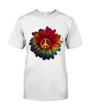 Hippie - Flower tie-dye Premium Fit Mens Tee thumbnail
