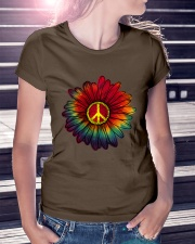 Hippie - Flower tie-dye Premium Fit Ladies Tee lifestyle-women-crewneck-front-7
