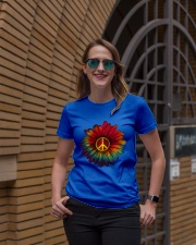 Hippie - Flower tie-dye Premium Fit Ladies Tee lifestyle-women-crewneck-front-2