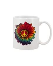 Hippie - Flower tie-dye Mug thumbnail