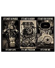 IT'S NOT A PHASE IT'S MY LIFE 17x11 Poster front