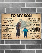 TO MY SON 17x11 Poster poster-landscape-17x11-lifestyle-18