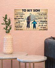 TO MY SON 17x11 Poster poster-landscape-17x11-lifestyle-21