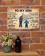 TO MY SON 17x11 Poster poster-landscape-17x11-lifestyle-23