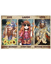 Live Every Moment 17x11 Poster front
