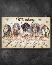 It's Okay  17x11 Poster aos-poster-landscape-17x11-lifestyle-12