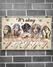 It's Okay  17x11 Poster aos-poster-landscape-17x11-lifestyle-18